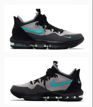 promo code 4a5e5 0615f Nike Lebron 16 Low Clear Jade Atmos US9.5