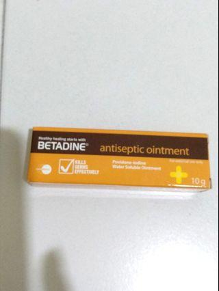 NEW  Betadine Ointment  10g