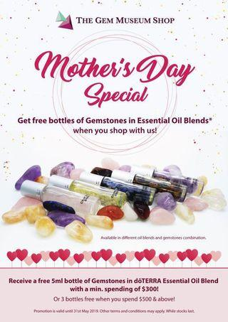 Mother's Day Special @ The Gem Museum Shop Bukit Timah Plaza