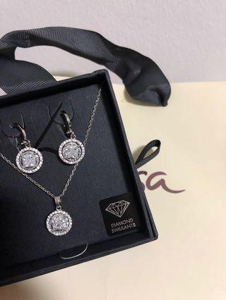 🚚 Lovisa Necklace & Earring Gift Set