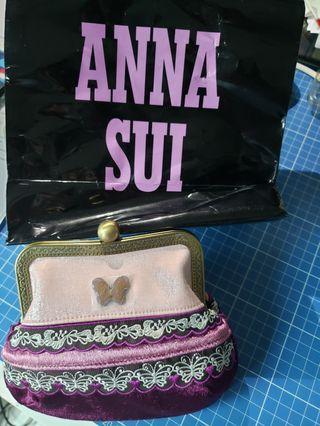 Anna Sui clutch wallet 小包包