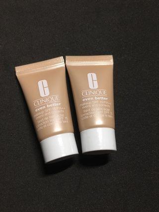 Clinique even better makeup SPF15PA++