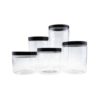 Plastic Container for Cookies [Black]