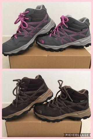 🚚 Authentic North Face Hiking/Winter Boots Kids