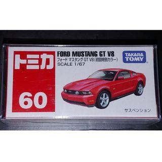 Takara Tomy Tomica No. 60 FORD MUSTANG GT V8 初回特別 紅色