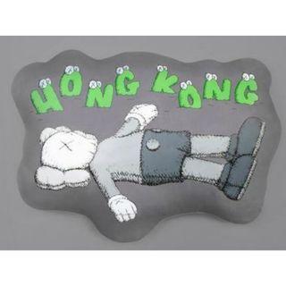 KAWS HOLIDAY Hong Kong Cushion Grey