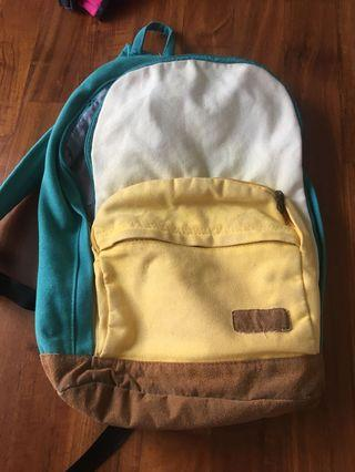 🚚 Turquoise backpack