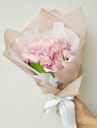 Mother's Day special Hydrangea flower bouquet