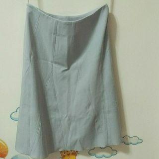 全新淺藍及膝裙