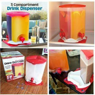 3 compartment drinks