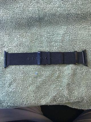 Black watch strap for Apple Watch 3 (42mm)