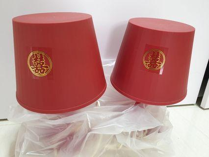 A Pair of Red Lamps