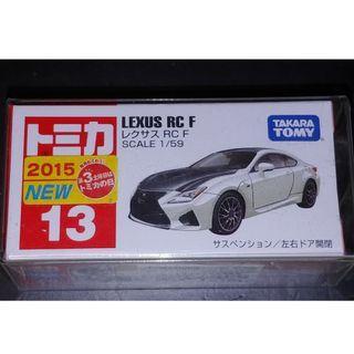 日版 TAKARA TOMY Tomica NO.13 Lexus RC F