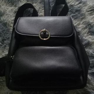MINISO BAG CASUAL BACKPACK BLACK