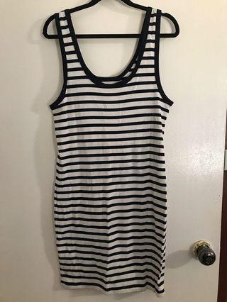 Stripe dress L