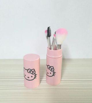 🎈全新現貨🎈Hello Kitty 造型化妝刷具組