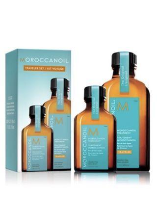 摩洛哥順髮油 Moroccanoil Traveler Set 50 ml + 25 ml 有盒全新