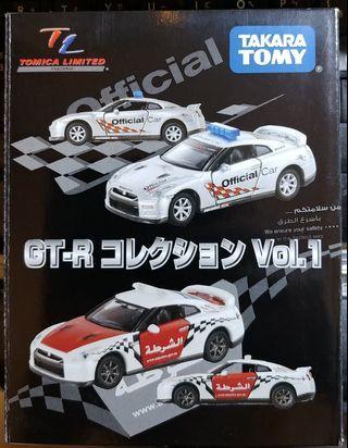 全新TAKARA TOMY TOMICA LIMITED Nissan R35 GTR SET VOL.1