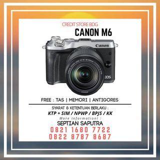 Kredit Kamera Canon M6
