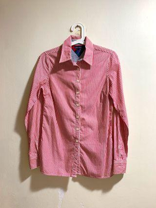 Almost new Tommy Hilfiger Striped Ladies Shirt