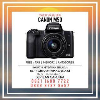 Kredit Kamera Canon M50