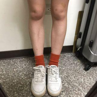 Reebok白色板鞋 24.5公分