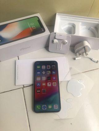 iPhone X 256gb Silver TT/BT