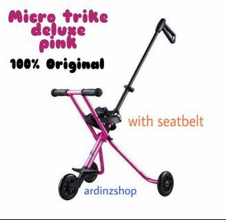 Micro Trike Deluxe ORIGINAL with seat belt