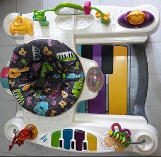 FREE POST Fisher Price Little SuperStar Step'n Play Piano Walker