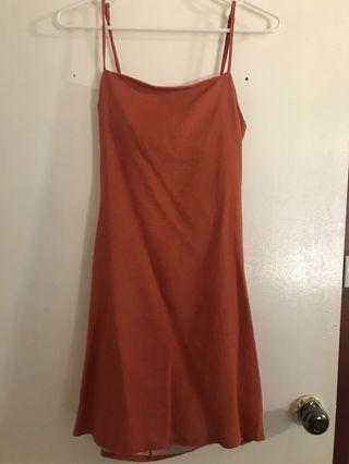 Tan dress 12