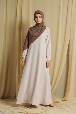 Gamis polos By heavenlights