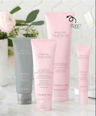 Mary Kay Timewise Miracle set 3D - May Promo Free Cleanser!!