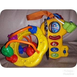 FREE POST Shelcore Beads and Vtech Learn & See Key set
