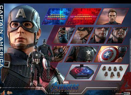 Hottoys Captain America 單+1500
