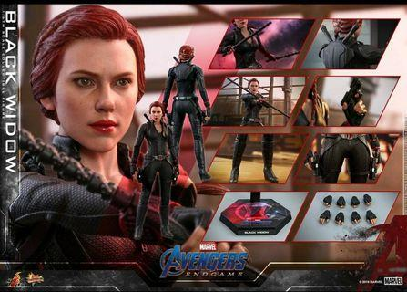 Hottoys black widow endgame +500