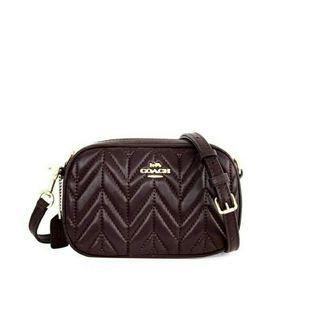 COACH Convertible Quilted Belt Bag/ Tas Pinggang COACH Original Murah/ COACH Belt Bag Factory Outlet