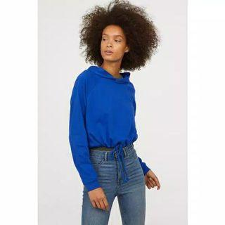 H&M DIVIDED SWEATER CROP