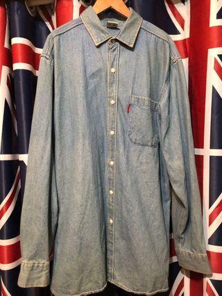 🚚 美式復古牛仔襯衫