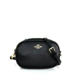 COACH Pebbled Dressy Belt Bag / Tas branded Murah / Tas COACH Factory Outlet Murah