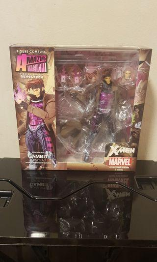 Revoltech Marvel X-Men Gambit BNIB 100% Oiginal