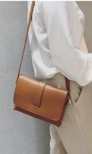 BNWT Brown Ladies Women Sling Bag
