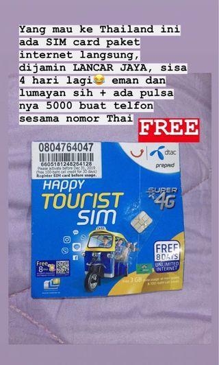 SIM Card DTAC THAILAND