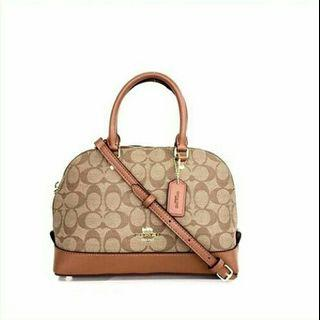 COACH Sierra Small in Colorblock Signature / Tas COACH Sierra Sisa Pabrik (Factory Outlet) Murah