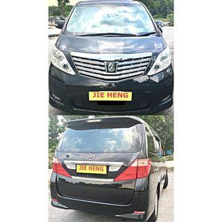 [MONTHLY] [$103 PER DAY] MPV FOR LEASING [TOYOTA ALPHARD 2.4A]
