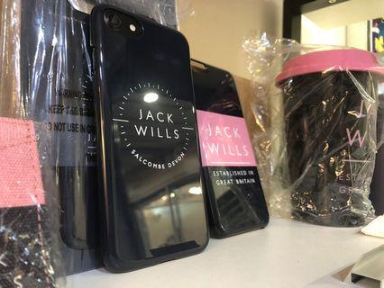 JackWills iPhone Case (Navy/Pink)