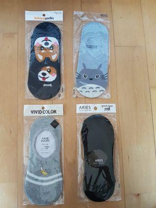 6cd3a7138 Korea Woman Non Slip Silicone Pad Socks