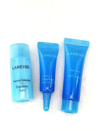 Laneige Trial Set Emulsion 15ml + Eye Gel 15ml + Gel Cream 10ml