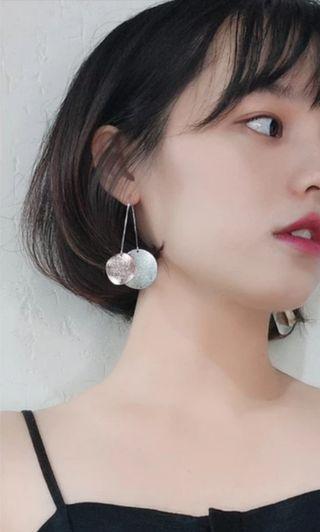 BNWT Clip On Silver Plate Dangling Earrings