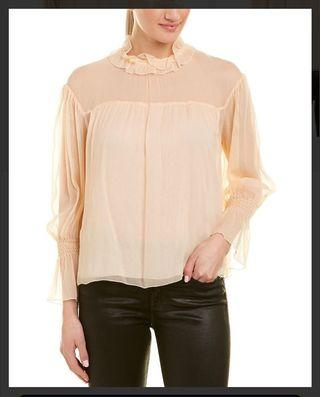 See By Chloé Pink Blouse