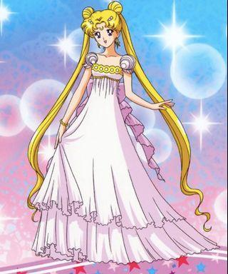 🚚 Sailor Moon Princess Serenity cosplay gown